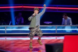 Występ Arsena podczas Głos dzieci Ukraina 2012