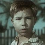 Anatoli Ptichkin Толя Птичкин w filmie Druzhok Дружок 1958
