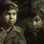 Viktor Koval Виктор Коваль i Anatoli Ptichkin Толя Птичкин w filmie Druzhok Дружок 1958