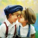 obrazek tapeta malarstwo rysunek Donald Zolan Two Of A Kind