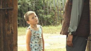 chłopiec w filmie Wróbel Воробей 2010