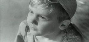Vova Semyonov Алёша Загорский jako Dimka Димка film Kupiłem tatę Я купил папу 1962