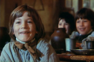 chłopcy w filmie Mały diabeł Un bon petit diable 1983